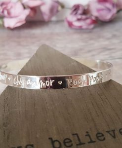 Sterling Silver Favourite Things Bangle