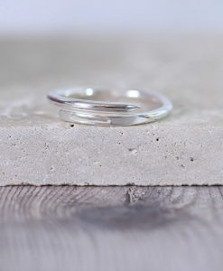 Sterling Silver Needle Ring