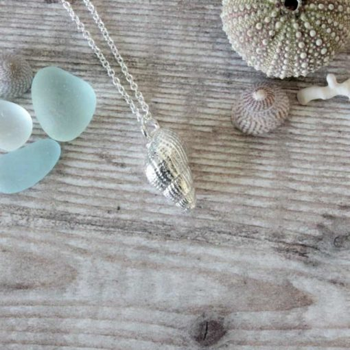 Spiral Sea Shell Necklace