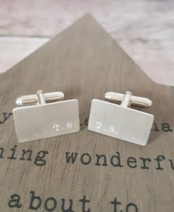 Mens Personalised Cufflinks