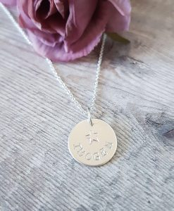 Personalised Sterling Silver Necklace