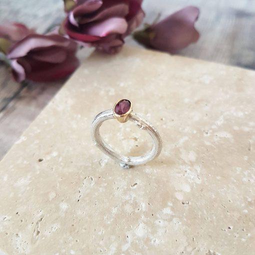 Woodland Gemstone Ring