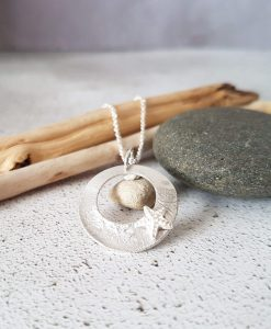 Handmade Sterling Silver Coastal Necklace