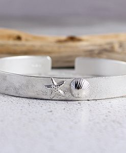 Sterling Silver Cuff COAST Design