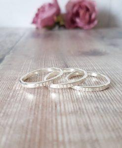 Set of 3 Story Rings