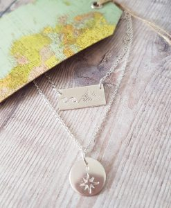 Waves & Mountains Necklace Set